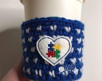 Autism Acceptance Coffee Cozy