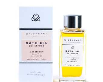 Organic Aromatherapy Wellness Bath Oil