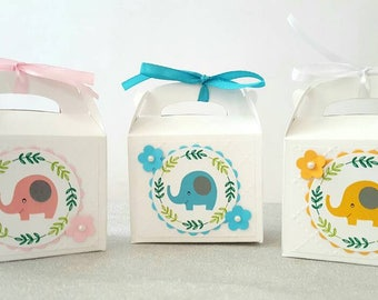 Baby Shower Favor Boxes / Baby Shower Favors / Baby Shower Favors Girl / Baby  Shower