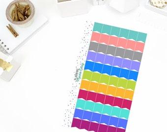 Mini Flags Personal Size! Perfect for your Erin Condren Life Planner, calendar, Paper Plum, Filofax!