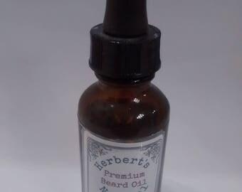 Premium Beard Oil made with Hemp Seed Oil and Meadowfoam Seed Oil