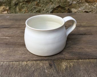 Hand thrown stoneware coffee mug #3