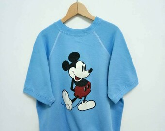 Camiseta Mickey Mouse Vintage manga corta/Mickey Mouse suéter/Mickey Mouse Disney/dibujos animados camiseta