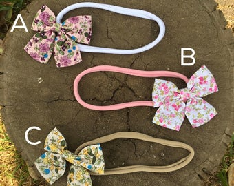 Bows with tails