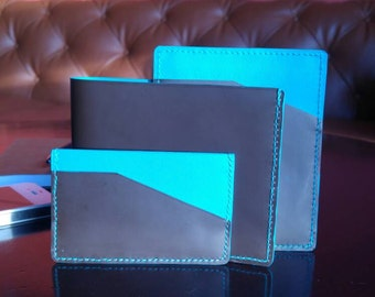 Assorted gift wallet and card holder set