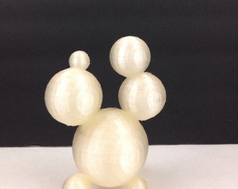 "Orbs 3D Printed Art Sculpture Original ""Design"" ok Desk Crap"