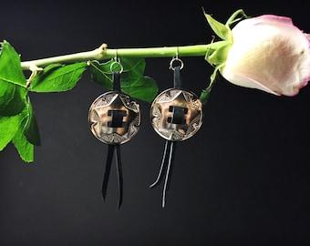 Conch Suede Earrings