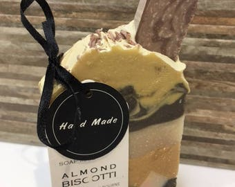 Almond Biscotti Handmade Soap