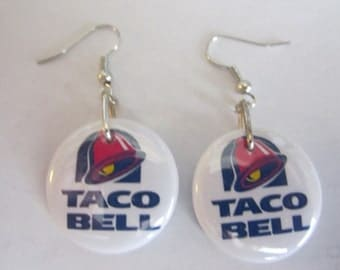 Taco Bell Hand Made Ear Rings