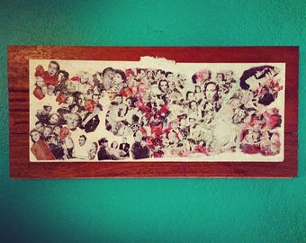 Finding Lucille - Mixed Media Reclaimed Wood Art