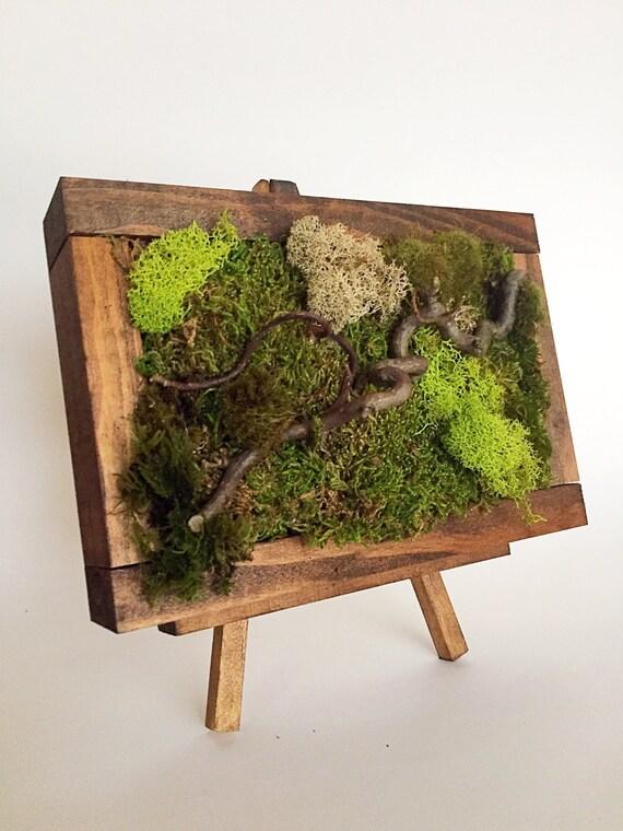 10x75 Moss Art Wall Hanging Garden Vertical