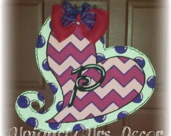 Valentines Door Hanger, Heart Door Hanger, Valentines Day Door Hanger, Door Hanger