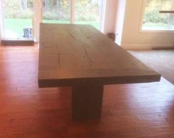 Barn wood Timber dining room table