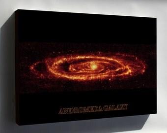 Canvas 24x36; Andromeda Galaxy Taken By Spitzer P3 - Copy