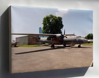 Canvas 24x36; Antonov An-26 Czech Airforce 2507