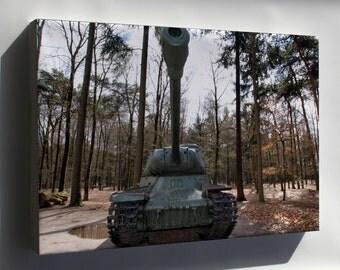 Canvas 24x36; Is 2 Iosif Stalin Tank Pic4
