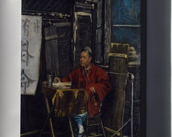 Canvas 16x24; Nelson A Primus   Fortune Teller #031215