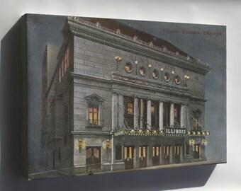 Canvas 16x24; Illinois Theatre, Chicago, Illinois