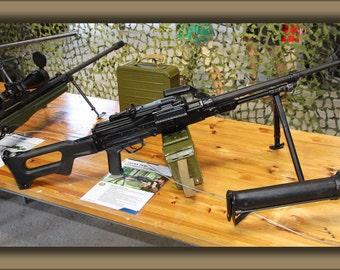 16x24 Poster; 7,62 Kk Pkm Machine Gun Lippujuhlan Paiva 2013