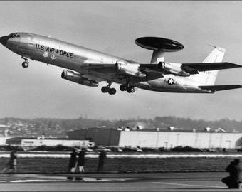 16x24 Poster; Boeing E-3 Sentry 1972