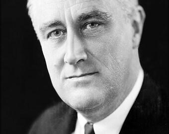 16x24 Poster; Franklin D. Roosevelt