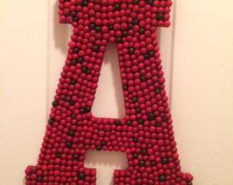Customized holiday letter decoration