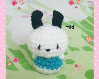 Pochacco amigurumi, plush pochacco crochet, kawaii amigurumi pochacco,  Sanrio plush, Sanrio amigurumi plush
