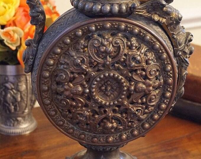 Ornate Rococo Metal Ewer