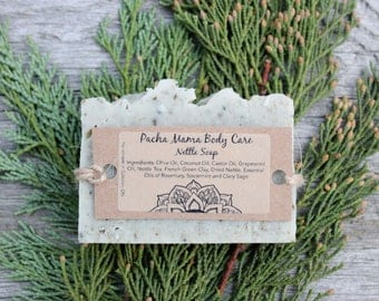 Nettle Soap  • Soap  • Palm Free Soap • All Natural  • Vegan Soap • Natural Soap • Organic Body Care