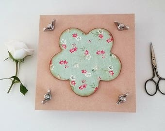 Flower press handmade