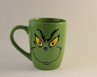 What if Christmas meant a little bit more Coffee Mug, Grinch inspired; Christmas gift; Christmas party; Stocking stuffer; Funny gifts;