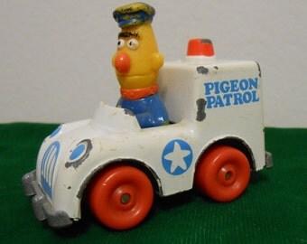 Vintage Sesame Street Metal Pigeon Patrol Truck Toy - Ernie and Bert by Playskool, Muppets Inc.
