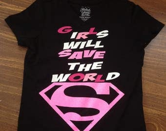 Super girl shirt