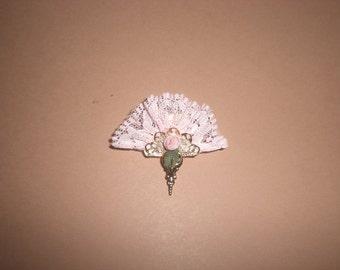 Miniature 1/12. Fan Lady