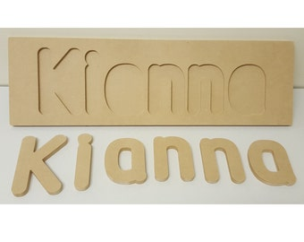 Kids Letters Wooden Name Puzzle