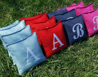 Add-on Listing - Embroidery Upgrade for your new Cornhole Bags