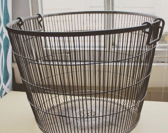 Metal laundry hamper | Etsy