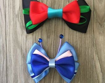 Lilo & Stitch Inspired Character Hair Bows