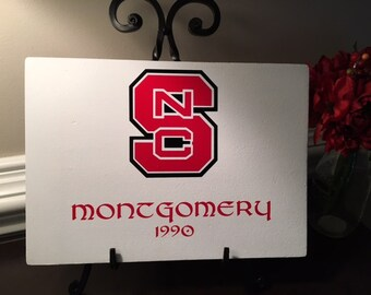 NC State Wolfpack Sign