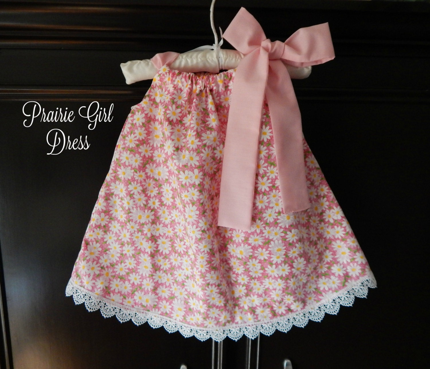 baby pink lemonade dress pink lace dress baby shower gift