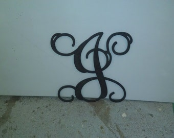 PVC  Single Monogram Initial,    your choice of size and color.    never needs painting