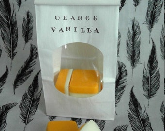 Orange Vanilla, 4oz!! soy wax melts, tarts