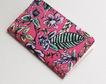 Red Flowers Notebook -journal, sketchbook-