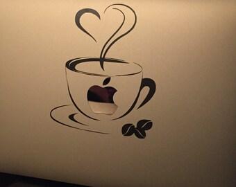 Macbook/ MacBook Pro coffee decal