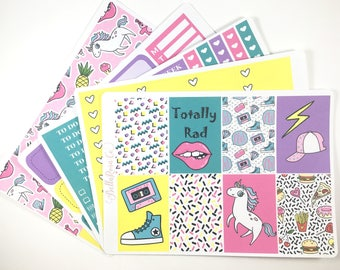 Saved by the Bell- Happy Planner Sticker Kit