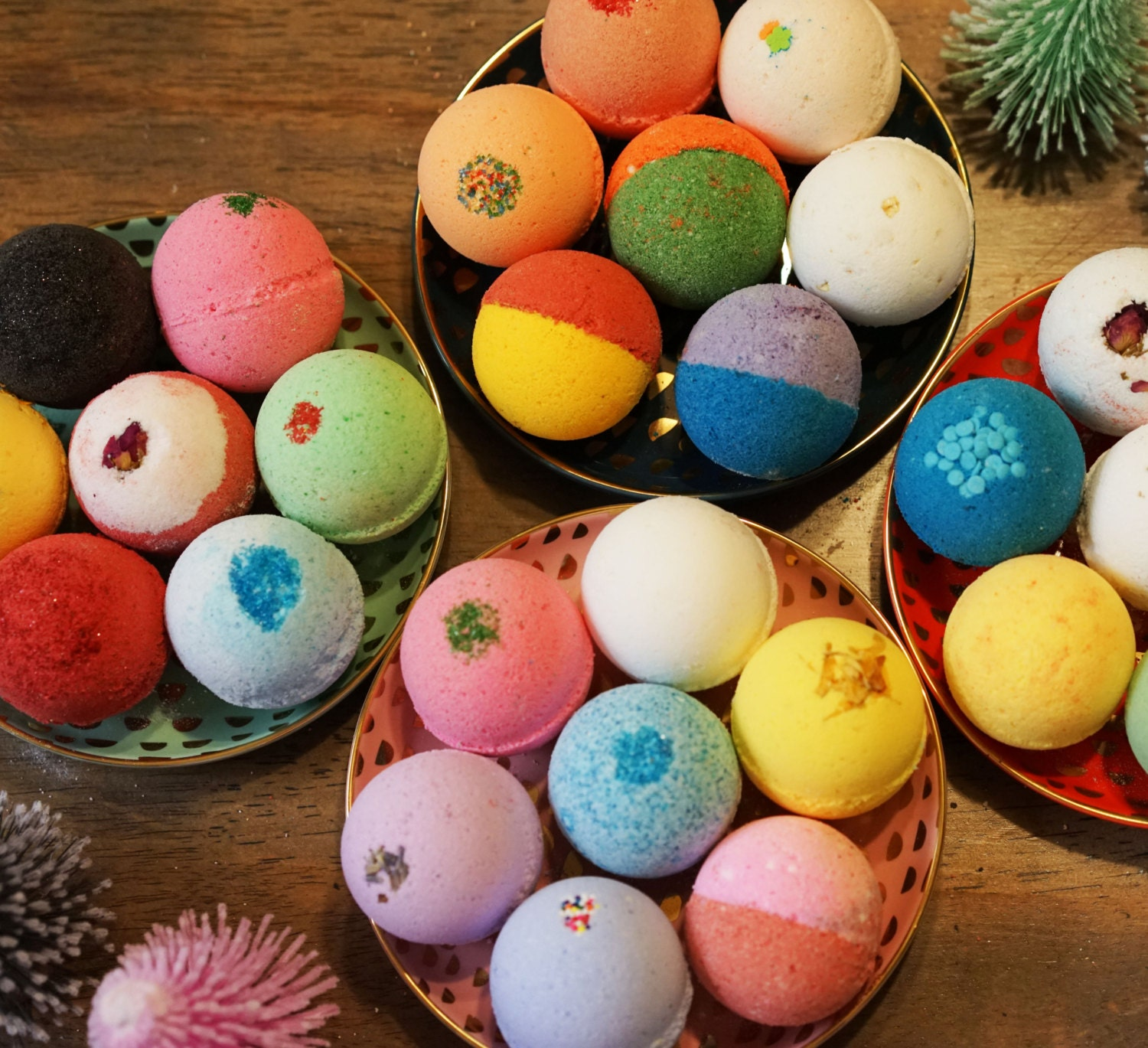 12 bath bombs perfect gift set handmade fizzy bomb with shea