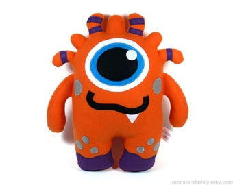 Stuffed Monster Cute Monster Plush Toy Monster Stuffed Animal Baby Kawaii Monster Plushie Stuffing Stocker Nursery Pillow Giht For Him