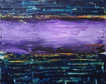"11""x14"" Original Acrylic Abstract Painting"