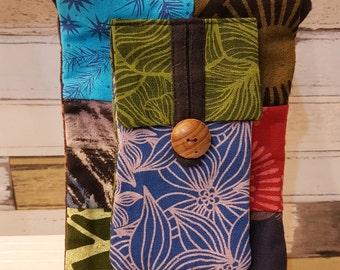 Multi color Ethnic bag Boho bag Hmong bag Cross body bag Shoulder bag Cigarette case for adult