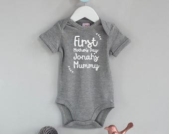 London bus design baby onesie made in the uk new baby personalised first mothers day gift first mothers childs names mummy babygrow new negle Images